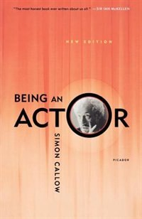 Book Being An Actor by Simon Callow