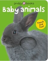 Bright Baby Touch & Feel Baby Animals: With Book