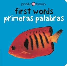Book Bilingual Bright Baby First Words by Roger Priddy