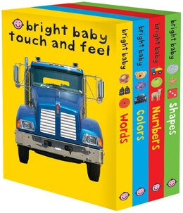 Book Bright Baby Touch & Feel Slipcase 2 by Roger Priddy