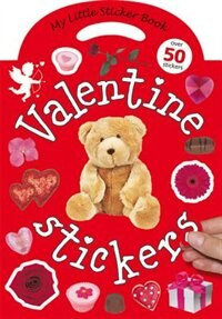 Book My Little Sticker Book Valentine by Roger Priddy