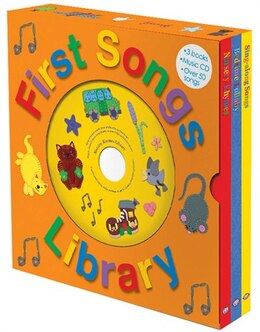 Book First Songs Library by Roger Priddy