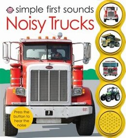 Book Simple First Sounds Noisy Trucks by Roger Priddy