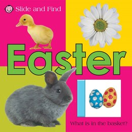 Book Slide And Find Easter by Roger Priddy