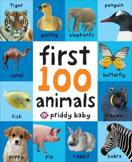 Book First 100 Animals by Roger Priddy