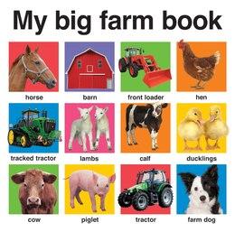 Book My Big Farm Book by Roger Priddy