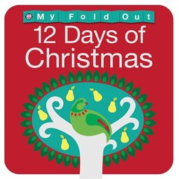 Book My Fold Out Books 12 Days of Christmas by Priddy