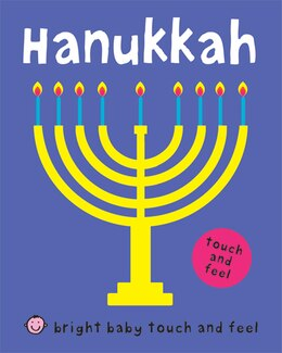 Book Bright Baby Touch And Feel Hanukkah by Roger Priddy