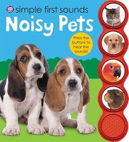 Book Simple First Sounds Noisy Pets by Roger Priddy