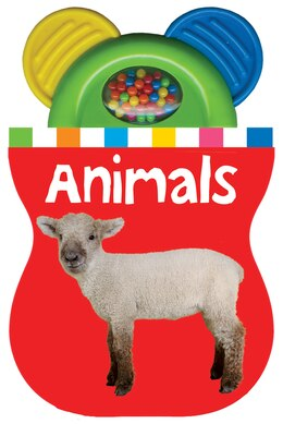 Book Baby Shaker Teethers Animals by Roger Priddy