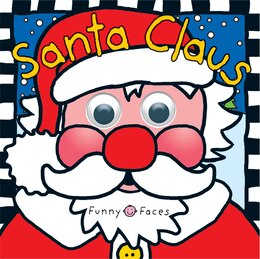 Book Funny Faces Santa Claus by Roger Priddy