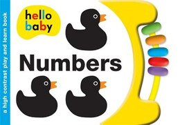 Book Hello Baby Play And Learn: Numbers: A High-contrast Board Book by Roger Priddy