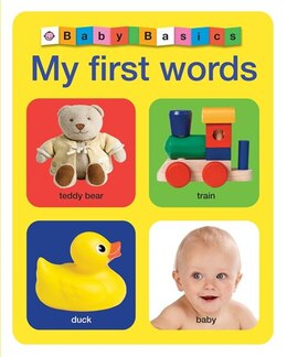 Book Baby Basics: My First Words by Roger Priddy