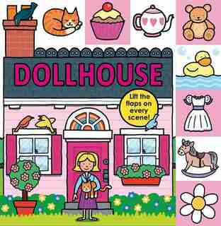 Lift-the-Flap Tab: Dollhouse by Roger Priddy
