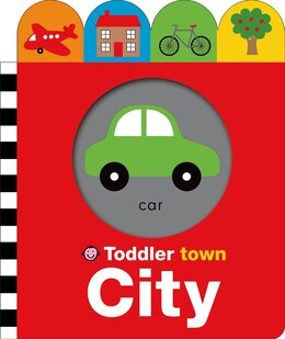 Book Toddler Town: City by Roger Priddy