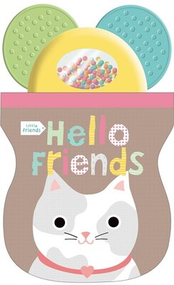 Book Little Friends: Hello Friends Shaker Teether by Roger Priddy