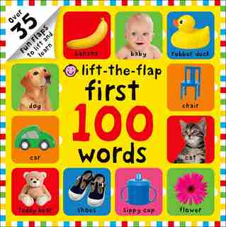 First 100 Words Lift-the-Flap: Over 35 Fun Flaps To Lift And Learn by Roger Priddy