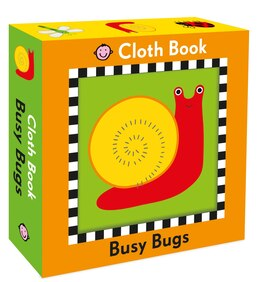 Book Busy Bugs Cloth Book by Roger Priddy