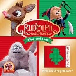 Book Rudolph the Red-Nosed Reindeer Slide and Find by Roger Priddy