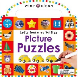 Book Wipe Clean: Picture Puzzles by Roger Priddy
