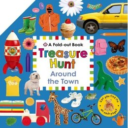Book Treasure Hunt: Around the Town by Roger Priddy