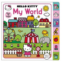 Book Hello Kitty: My World: A Lift-the-flap Book With Over 70 Flaps by Roger Priddy