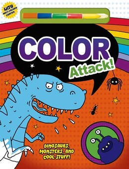 Book Color Attack! by Roger Priddy