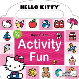 Book Hello Kitty: Wipe Clean Activity Fun by Roger Priddy