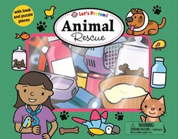 Book Let's Pretend: Animal Rescue by Roger Priddy