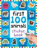 First 100 Animals Sticker Book: Over 500 Stickers by Roger Priddy