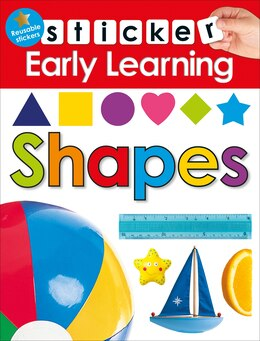 Book Sticker Early Learning: Shapes by Roger Priddy