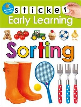 Book Sticker Early Learning: Sorting by Roger Priddy