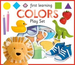 Book First Learning Colors Play Set by Roger Priddy
