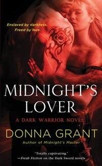 Book Midnight's Lover: A Dark Warrior Novel by Donna Grant