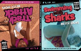 Book Swimming with Sharks/Track Attack by Betty Hicks
