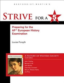 Book Strive For A 5 For History Of Western Society Since 1300 For Advanced Placement by John P. McKay
