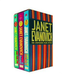 Book Plum Boxed Set 1 (1, 2, 3): Contains One for the Money, Two for the Dough and Three to Get Ready by Janet Evanovich