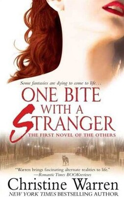 Book One Bite with a Stranger by Christine Warren