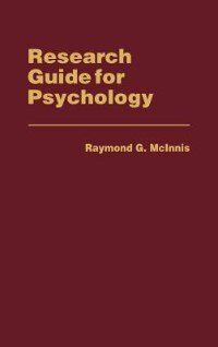 Book Research Guide for Psychology by Raymond G. McInnis