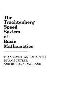 Book The Trachtenberg Speed System of Basic Mathematics by Ann Cutler