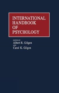 Book International Handbook of Psychology by Albert R. Gilgen