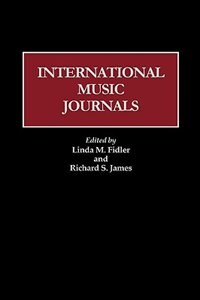 Book International Music Journals by Linda M. Fidler