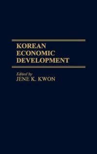 Book Korean Economic Development by Jene K. Kwon