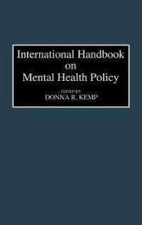Book International Handbook on Mental Health Policy by Donna R. Kemp