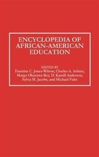 Book Encyclopedia of African-American Education by Faustine C. Jones-Wilson
