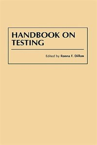 Book Handbook on Testing by Ronna F. Dillon