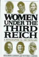 Book Women under the Third Reich: A Biographical Dictionary by Shaaron Cosner
