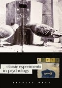 Book Classic Experiments In Psychology by Douglas Mook