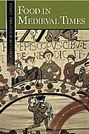 Book Food in Medieval Times by Adamson