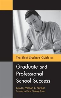 Book The Black Student's Guide To Graduate And Professional School Success by James Minahan